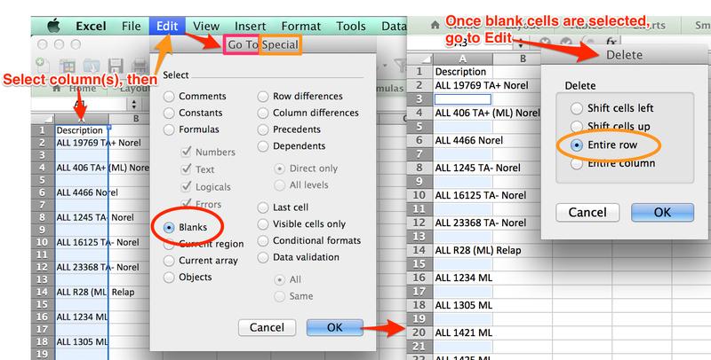 math worksheet : genepattern : Excel Array Remove Blank Rows
